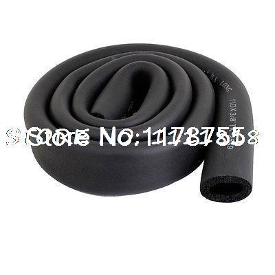 Sourcingmap Lot de 2x 3//8 Air Tube en mousse isolante thermique Noir
