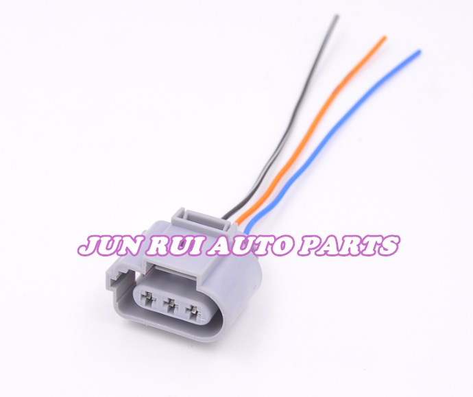 US $18 99 |3 Pin Car Fog Lamp Crankshaft position sensor plug Connector  with wire For Volkswagen Audi Skoda 1J0973723G-in Cables, Adapters &  Sockets
