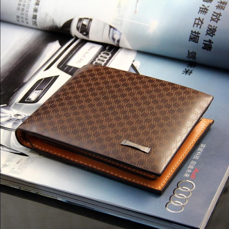 Fashion Genuine Leather Men Wallets Brand Casual Short Design Zipper Plaid Wallet Man Card Holders Pocket  Male Coin Purse ежедневники disney ежедневник недатированный кожзам disney а5 дэйзи 200с