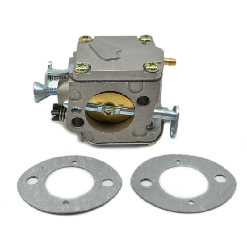 Chainsaw Carburetor Carbs with Gasket Replaces 503280316 501296402 for Husqvarna 61 66 162 266 268 272 Saw Parts chainsaw carburetor ignition coil with carbs gasket fuel filter spark plug replacement parts for husqvarna 50 51 55 chain saws