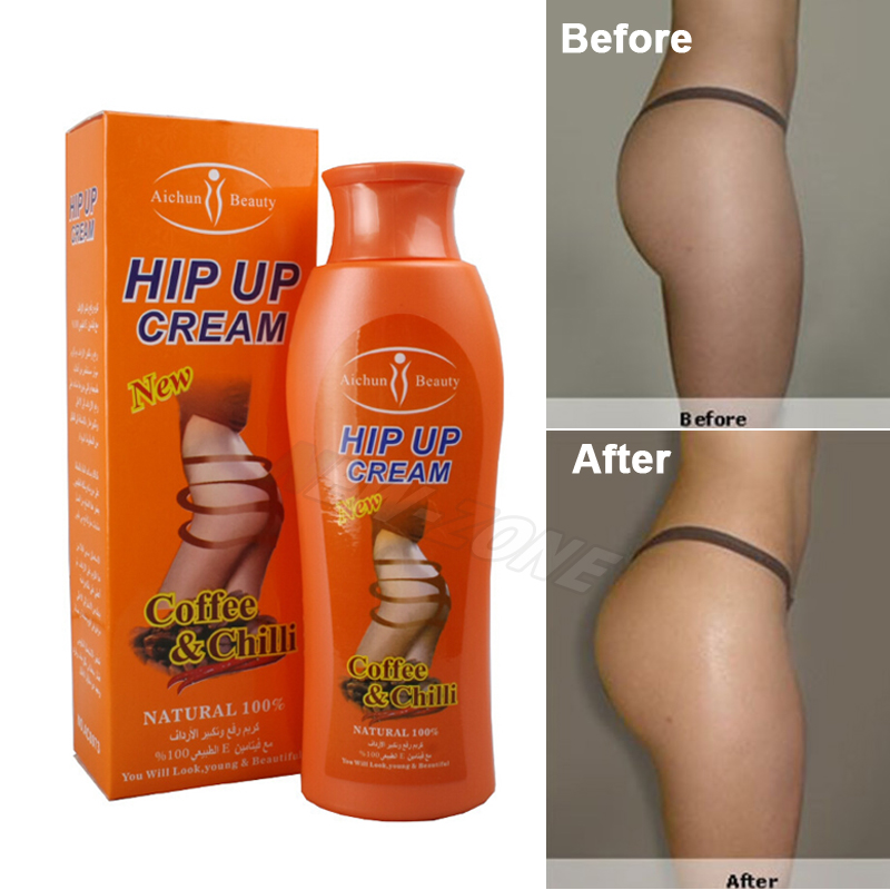 100% Natural Hip Lift UP Cream Fast Bigger Lady Butt Plump Ass Enhancer Enlargement 200g Body Shaper Bleaching Whitening Cream