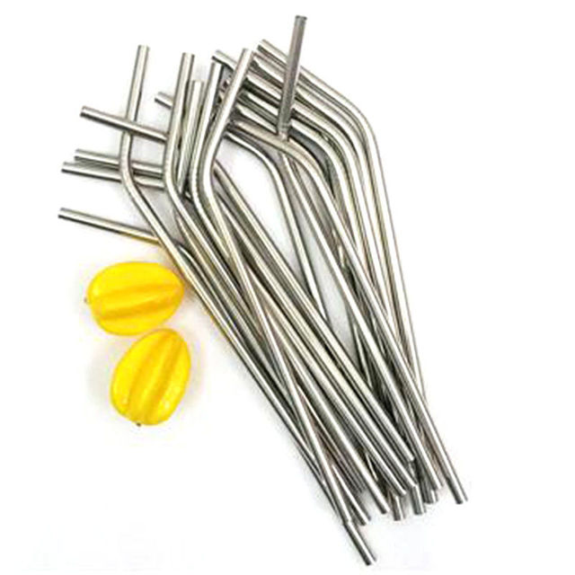 Stainless Steel Drinking Straws enLarge for Shakes and Smoothies Reusable Straws Best Deal Stainless steel drinking straw