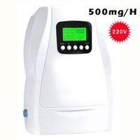 portable Multifuctional Ozone Generator 500mg/Sterilizer 110V for Air Purification/ food Preparation ozonizer ionizator