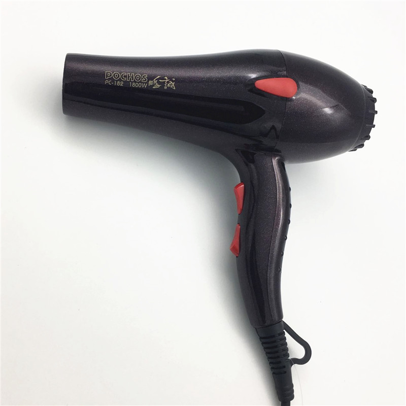 Professional Salon Hair Dryer 1800W Blower Gift :Collecting Nozzle Free shipping EU US AU UK Plug Styling tools shanghai kuaiqin kq 5 multifunctional shoes dryer w deodorization sterilization drying warmth