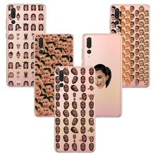 Kimoji Kim Kardashian Soft Silicone Phone Cover Cases Funny Face Kanye Capa Back for Huawei P8 P9 P10 P20 P30 Lite Pro