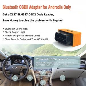 Image 5 - Maozua Z137บลูทูธ Elm327 OBD2รถเครื่องมือวินิจฉัย Super Mini ELM327บลูทูธ V1.5 OBD 2เครื่องสแกนเนอร์รหัส Reader PK AD10 Icar2