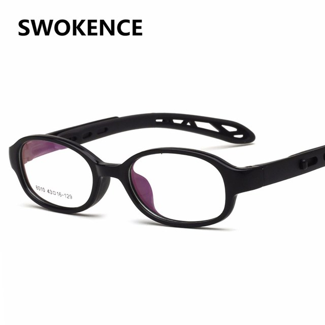 SWOKENCE Children\'s Upscale TR90 Adjustable Glasses Frame Girls Boys ...