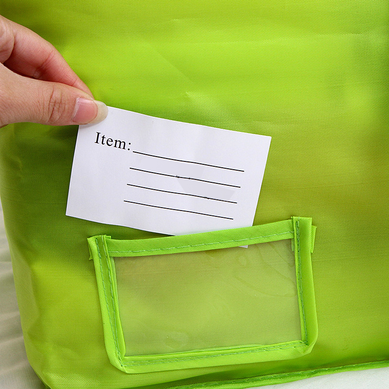 Multicolor 3 Size Clothing Storage Bag With Zipper Quilts Sorting Organizer Underwear Socks Clothes Organizer Oxford Storage Bag 1