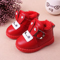 2016 Baby lovely Winter Keep Warm Snow Boots Lace Up Soft Sole Shoes Infant Toddler Kids Baby Crib Snow Shoes Boy girl Baby Boot