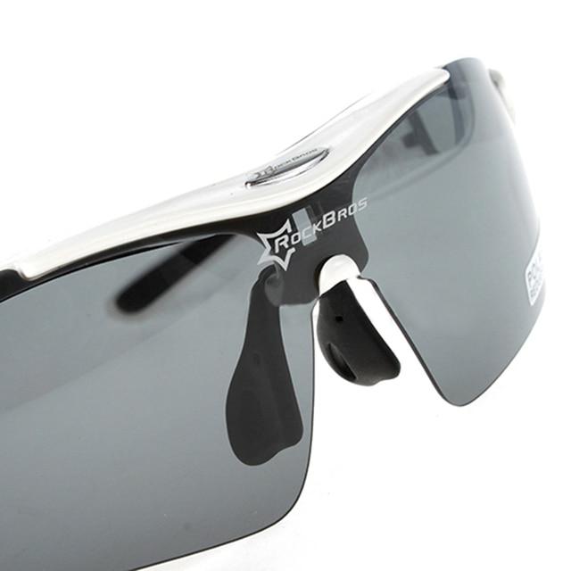 Sport RockBros Fishing Glasses Polarized Glasses Sports Sunglasses Outdoor Fishing Sunglasses TR90 Goggles Eyewear 5 Lens