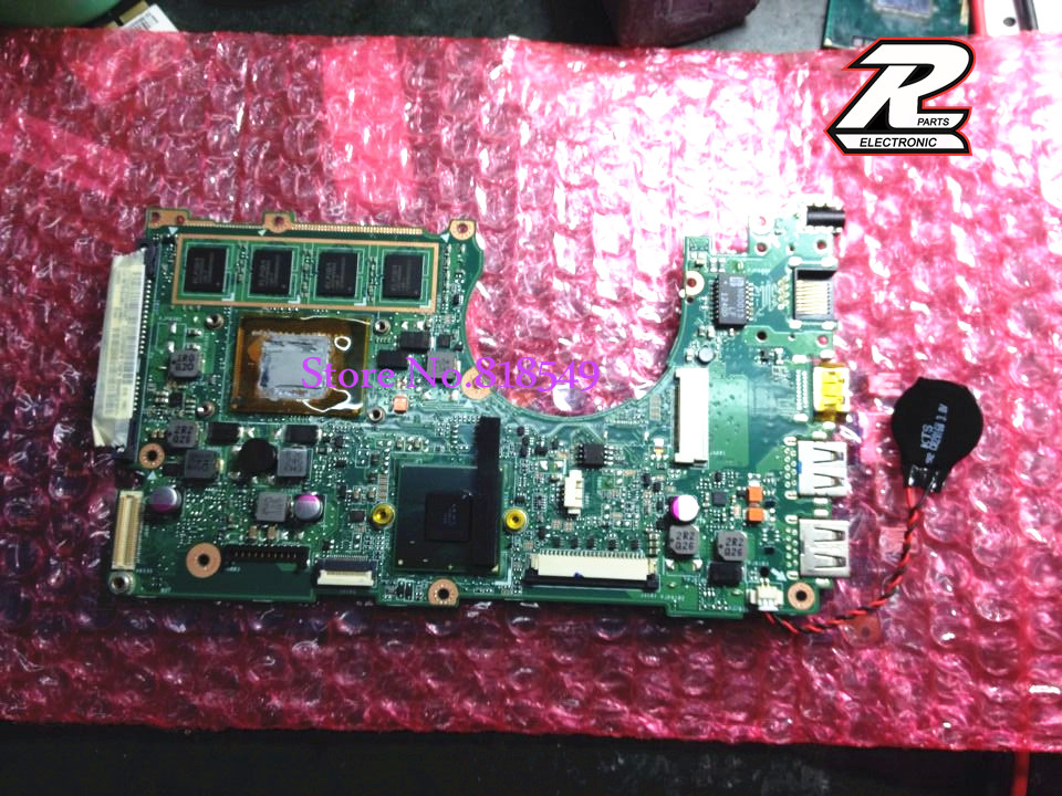 Original New Motherboard For Asus X202E  i3-3217U CPU + RAM on board REV 2.0 100% Tested OK 2017 gps navigator car anti radar detector x k ka ultra k strelka 360 degree laser detection with russia language