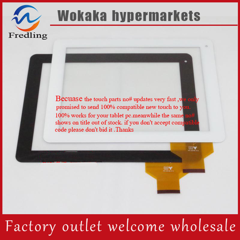 9.7Inch TPC-50146-V1.0 Black Capacitive Touch Screen Digitizer Glass Replacement for CUBE U9GT2 Window N90