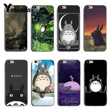 Yinuoda Chinchilla lanigera Hayao Miyazaki soft tpu phone case cover For iPhone 6plus 6s 7plus 8plus X XS XR Coque Shell(China)