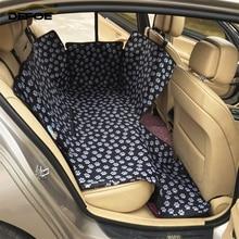 Housse de siège de voiture coussin pour animaux de compagnie de voiture deux places tapis de voiture double épais animaux housse de siège imperméable antidérapant coussin 130*150*55cm bigsize