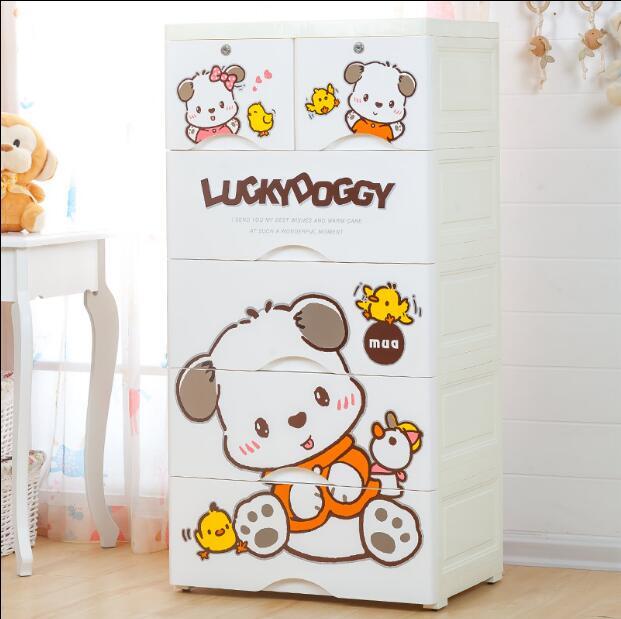 Armoire de rangement en plastique pour bébé, armoire pour bébé, armoire de rangement, commode pour enfants