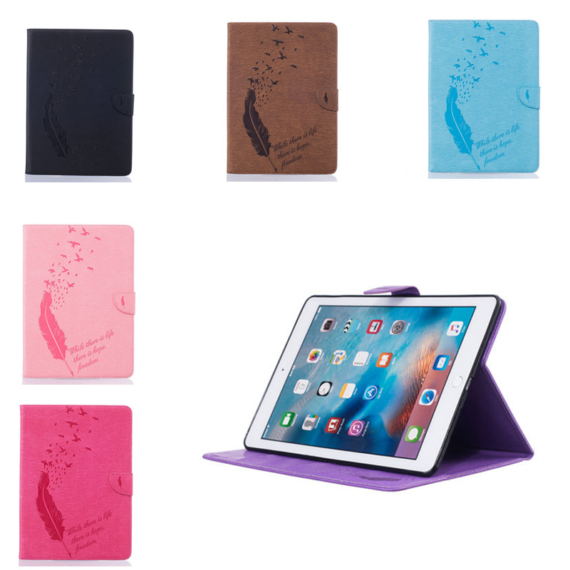 BF For New Apple iPad Pro 9.7 inch Tablet Case PU Leather with Card Slots Cover Luxury Folio Stand Cover for iPad Pro 9.7