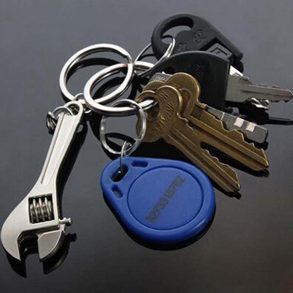 1 StÜck Neueste Mode Mini Kreative Schraubenschlüssel Schlüsselanhänger Auto Werkzeug Schlüsselanhänger Schlüsselanhänger Schmuck Geschenke Neues Design Schöne Geschenk Gesundheit Effektiv StäRken