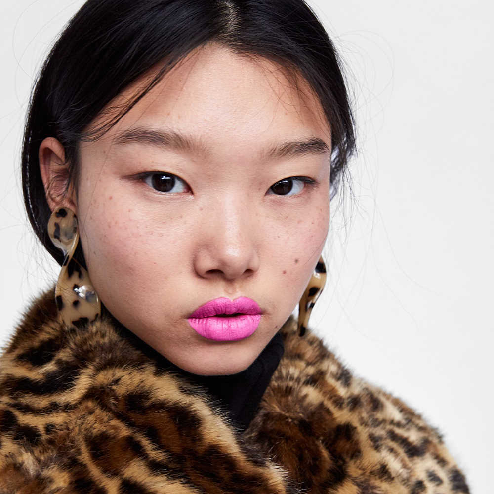 2018 amazon best sellers tortoiseshell earrings spiral acetate plates stud  earrings leopard acrylic earrings for women