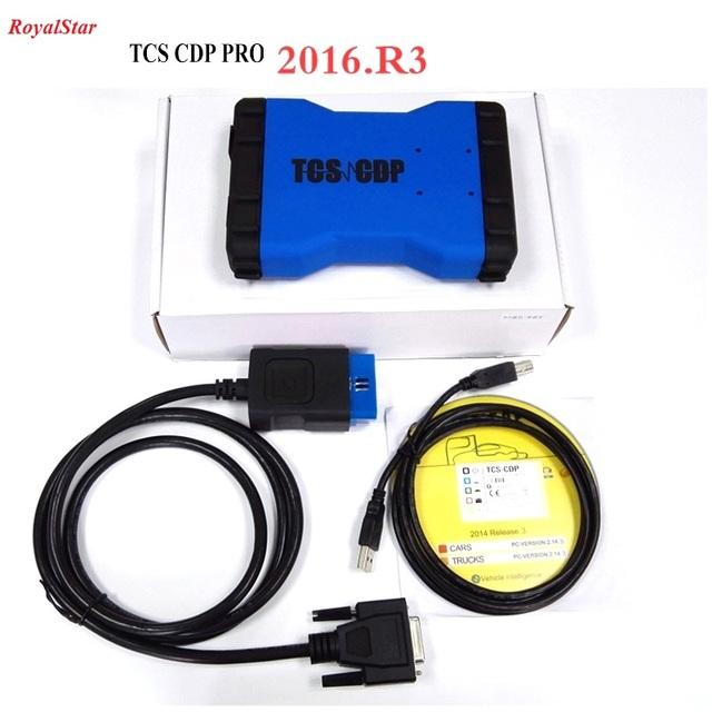 La alta calidad OBD2 Escáner de Diagnóstico bluetooth TCS CDP PRO para 12 V/24 V Coches/Camiones Envío Gratis