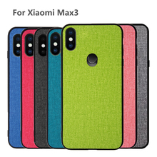 For Xiaomi Mi Max3 case Xiaomi Max 3 back cover fabric protective casebusiness silicone coque for xiaomi mi max 3 phone case luanke crocodile grain phone back case for xiaomi mi max 3