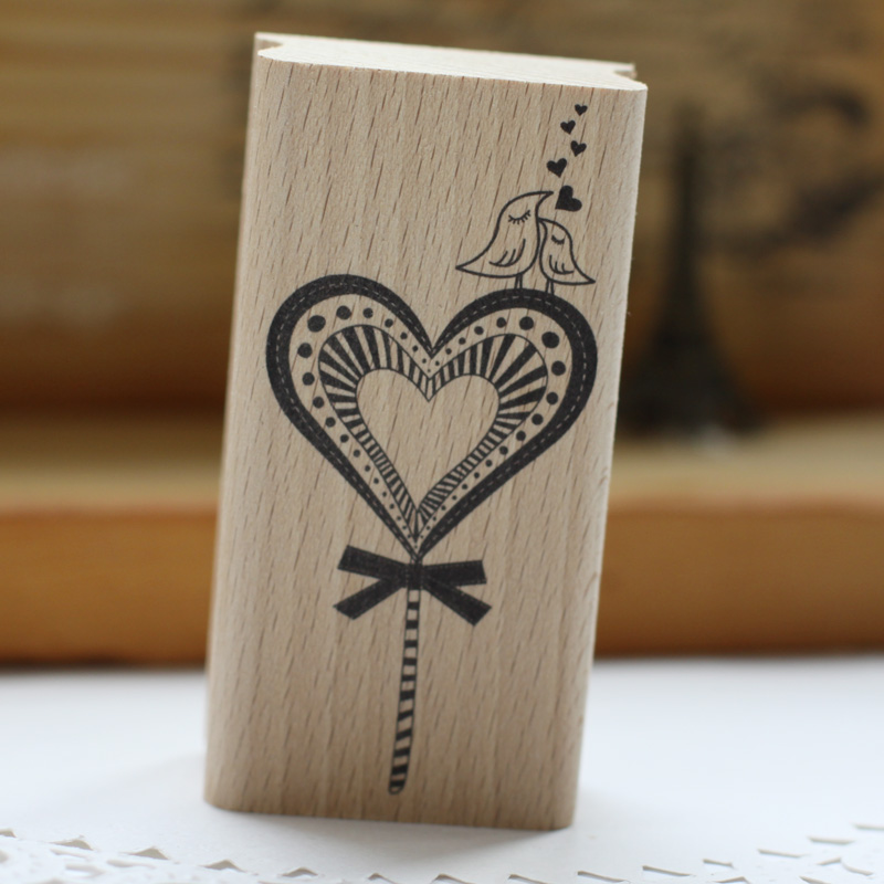 High quality Valentines loving bird scrapbooking rubber stamp ,handmake carimbos For card diy stempel made for loving водолазки