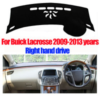 Car Dashboard Covers Mat For Buick Lacrosse 2009 2013 Years Right Hand Drive Dashmat Dash Cover