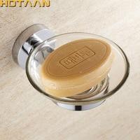 HOTAAN Zinc Alloy Chrome Soap Dishes Soap Holder Brand Bathroom Accessories YT 10995