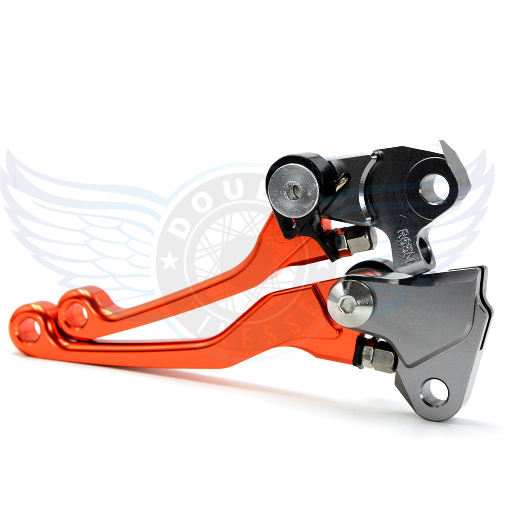 ФОТО motorcycle accessories Pivot Brake Clutch Levers CNC lever brake clutch For Yamaha YZ250F    2009 2010 2011 2012