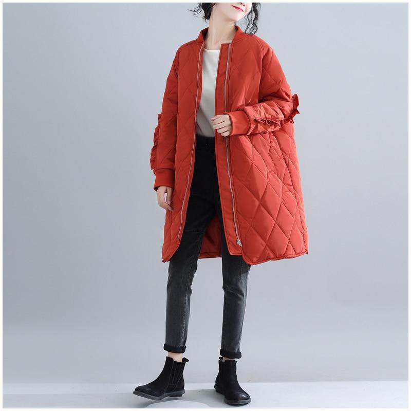 rusty Bas Femmes Lâche Code Red Chaud 2018 Veste Black Vers Tempérament Le Nouveau D'hiver De Pardessus Extra Mode Parka Femme Manteau Large wvE6qqR