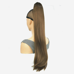 Image 3 - StrongBeauty Claw Clip Ponytail Long straight Hairpiece Synthetic Hair Extension