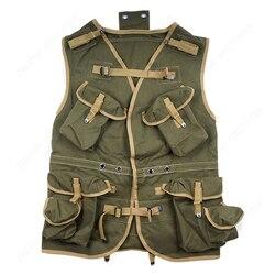 WW2 US ARMY D-DAG ASSUAULT VEST KAKI EN LEGERGROEN REPLICA-US/409102-
