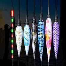 2 יח\חבילה Led דיג לצוף מצוף + 2CR425 סוללה לילה אור זוהר אלקטרוני צף קרפיון Bobbers Pecsa קרס דיג אבזר