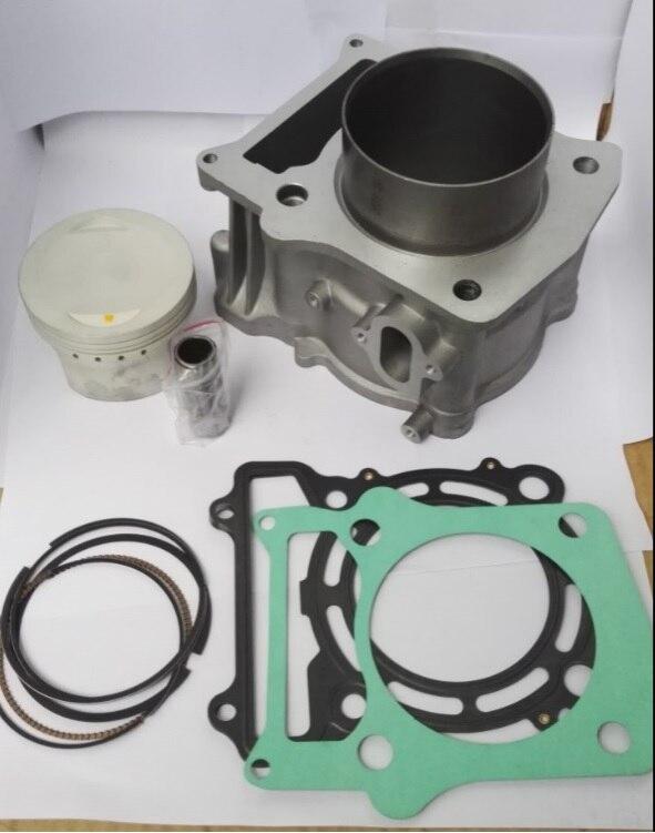 HISUN pièces HS500cc HS 500 cylindre Assy Kit de Piston anneaux HS185MR HS 500cc HS500cc ATV UTV 500 Quad moteur Forge tactique Coleman