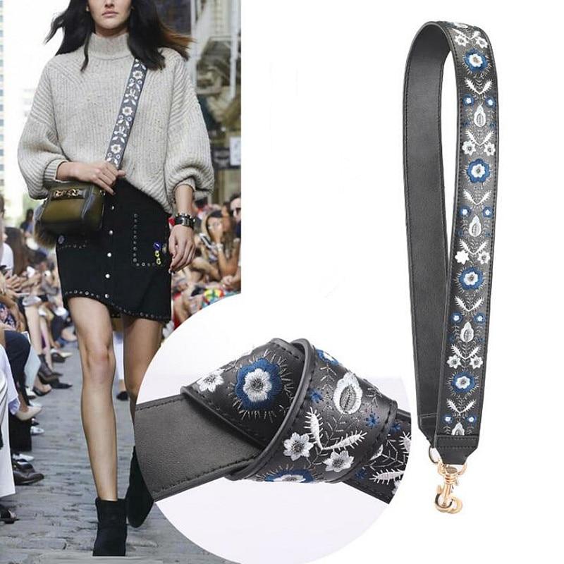 где купить 4x110CM Bag Straps Shoulder Belts Replacement Detachable Genuine Leather Handbag Handle Long Belts Gold Buckle Bag Accessories по лучшей цене
