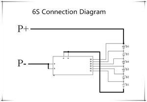 Image 5 - 6S 30A/7S 30A/6S 50A/7S 50A BMS Board con NTC per 3.7V Bordo di Protezione Della Batteria Al Litio Ternario/BMS 7 S/BMS 6S Bordo