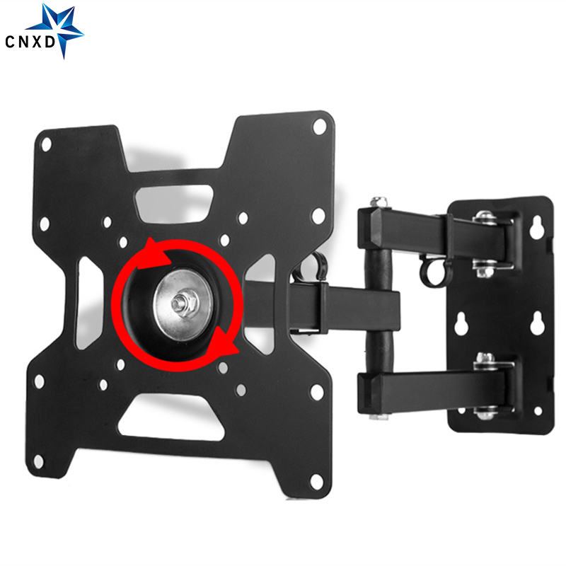 Plasma Flat Retractable LCD Bracket TV Mount Wall Mount Wall Stand Adjustable Mount Arm Fit Max Vesa 200*200mm Max Support 35KG