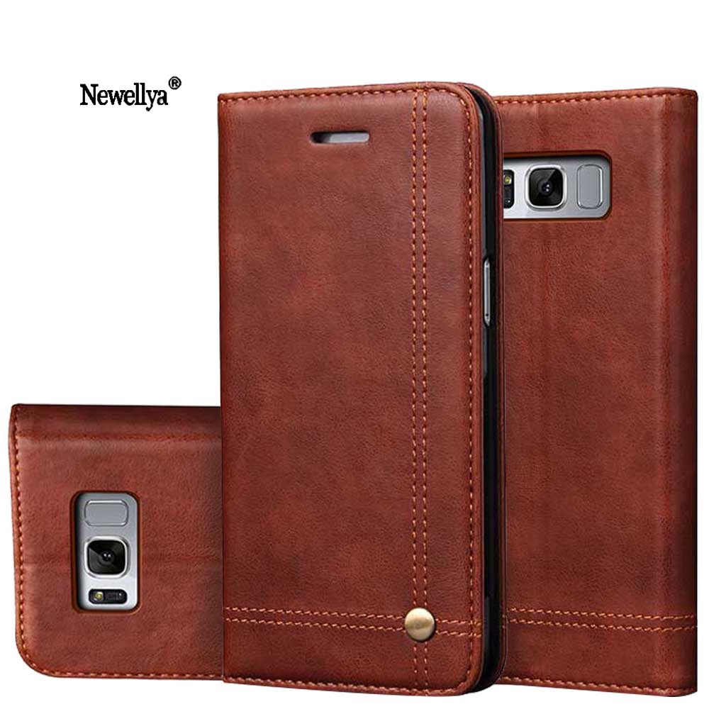 For Samsung Galaxy S8 S8 Plus Case S7 s7 <font><b>edge</b></font> <font><b>note</b></font> <font><b>7</b></font> Luxury Flip Leather Wallet Phone Bags Cases for Galaxy A3 A5 J3 J5 J7 2017