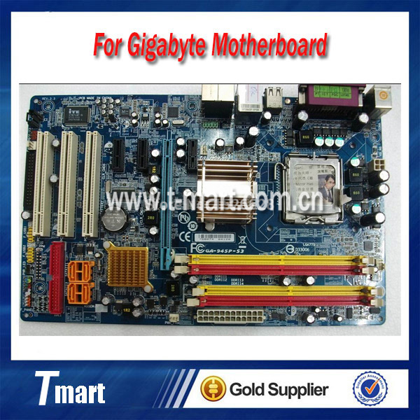 ФОТО 100% working Desktop motherboard for Gigabyte GA-945P-S3 System Board fully tested