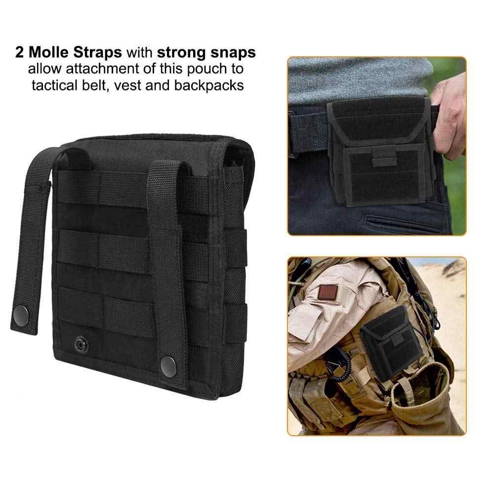 Militar Molle Administrador Frente Colete Cinto Saco Da Cintura Utilitário Bolsa De Armazenamento Revista Munição Para Caça Tiro Paintball Jogo CF