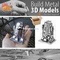 Новый R2D2 Droid робот 3d-металла пазлы модели развивающие игрушки DIY металлические Nano головоломки игрушки, Pu036, Бесплатная доставка