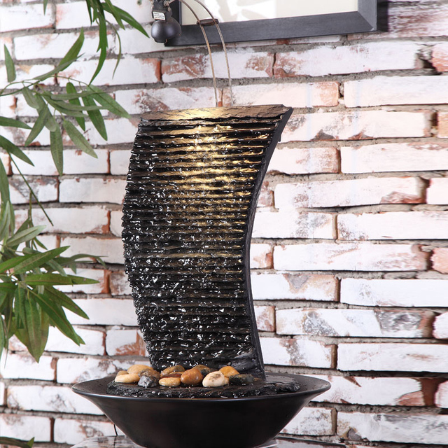 Beau The Living Room Water Fountain Humidifier Indoor Decoration Home Furnishing  Rockery Lucky Feng Shui Ornaments Decorations