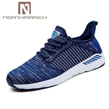NORTHMARCH New Summer Shoes Men Outdoor Sneakers Men Lace-Up Breathable Casual Shoes Men Krasovki Men Tenis Masculino Adulto