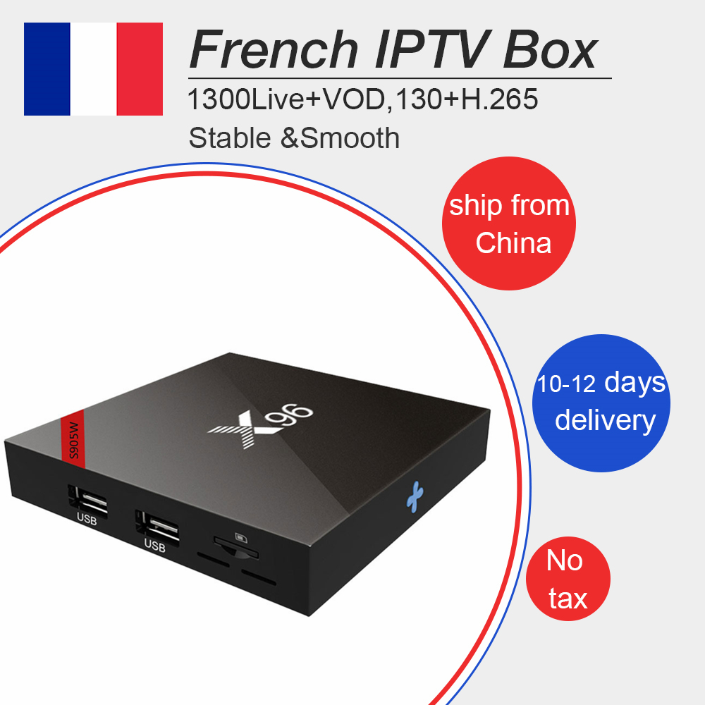 French Arabic iptv subscription for X96 Android tv box 7.1 Amlogic S905W best Belgium Morocco Europe tv+1300 live for smart tv belgium culture smart