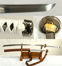 41′ Folded Steel Sheath Walking Dead Michonne Sword Full Tang Katana – Replica