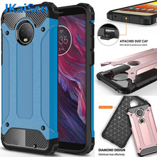 925df0ae9d16 For Motorola Shockproof Armor Silicone Phone Case For MOTO E5 E6 G4 G5 G6  G7 Z Play Plus One Power Force TPU Back Cover Coque