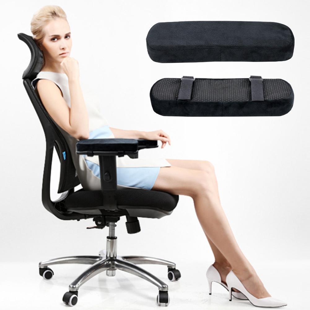 1 Pcs Weiche Memory Foam Bürostuhl Arm Rest Pads Abdeckung Ellenbogen Kissen Druck Relief Kissen Ruht Hand Stuhl Comfy Arm Kissen