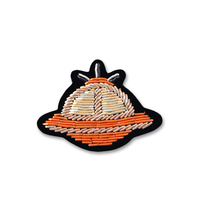 embroidery india silk pin on badges ufodesign brooch badge for clothing parches termoadhesivos para ropa for clothes