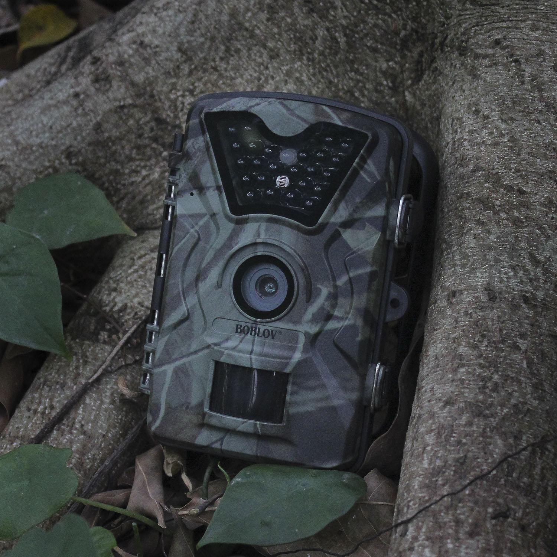 BOBLOV CT008 дикой природы Trail фото Ловушка Охота Камера 12MP 1080 P 940NM Водонепроницаемый видео Регистраторы Камера s для безопасности фермы быстрая