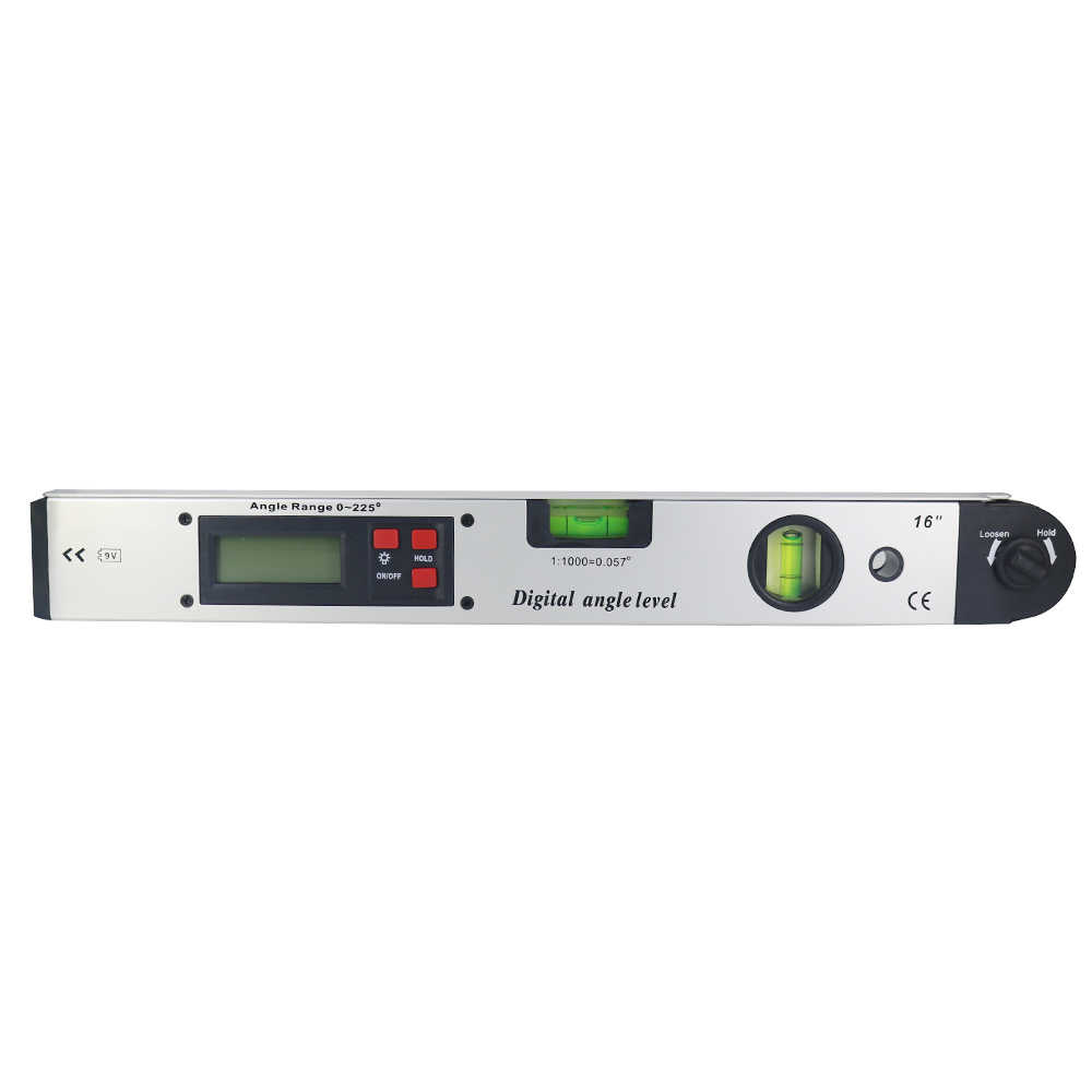 400 мм/16 дюймов инфракрасный цифровой дисплей угломерный инструмент Электронный лазер уровень цифровой лазерный угломерный инструмент