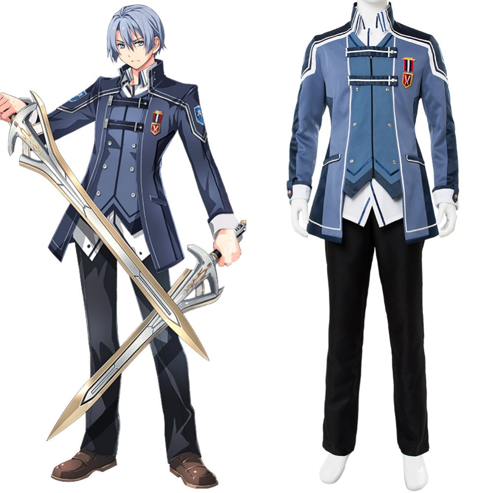 The Legend of Heroes Cosplay Costume Trails of Cold Steel Kurt Vander Costume Adult Outfit Halloween Carnival Cosplay Costume legend of the galactic heroes volume 2 ambition